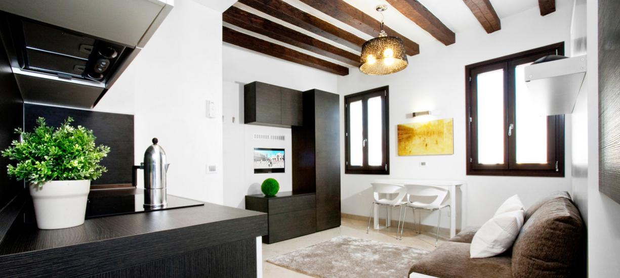 Margherita House Venice 2S - Living
